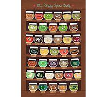 My Spiffy Spice Shelf Photographic Print