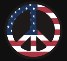 USA Peace by BevsandBecka