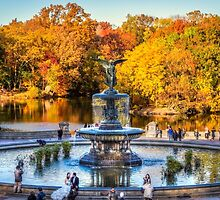 The Bethesda Fountain by MaxLemPhoto