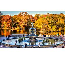 The Bethesda Fountain Photographic Print