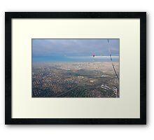 RedBubble Over  GreenWedge, Framed Print