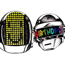 Daft Punk by MelodiWithAnEye