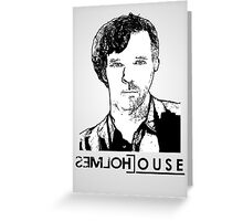 House & Holmes Greeting Card