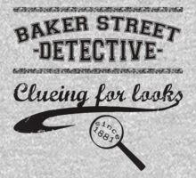 Baker Street Detective (Black) Kids Clothes