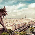 Paris - Gargoyle's Eye View by Vivienne Gucwa
