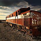 Marree Train by Daniel Groszek