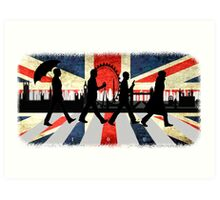 221B Abbey Road (Version One) Art Print