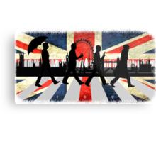 221B Abbey Road (Version One) Metal Print