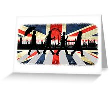 221B Abbey Road (Version One) Greeting Card