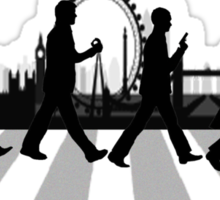 221B Abbey Road (Version Two) Sticker