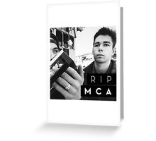 R.I.P. MCA Greeting Card