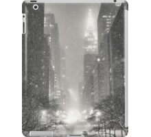 A Winter's Tale - New York City iPad Case/Skin