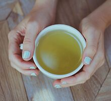 Mint Green Tea by Bethany Helzer