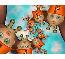 Inner Child - Little Firefighters at Rest Photographic Print