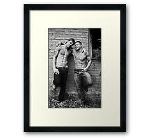 Just Friends? Framed Print