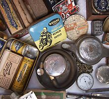 Motorcycle Ephemera by Mark Wilson