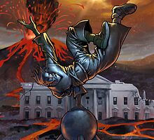 White House BBoy by cypherstyles