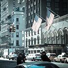 7th Avenue, New York City by Mitch Waite