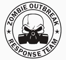 Zombie Outbreak Response Team gas mask Kids Clothes