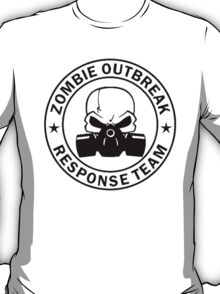 Zombie Outbreak Response Team gas mask T-Shirt