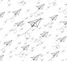 Paper Airplane 9 by YoPedro