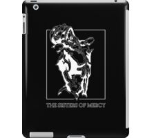 The Sisters Of Mercy - The Worlds End - Front Black and White iPad Case/Skin