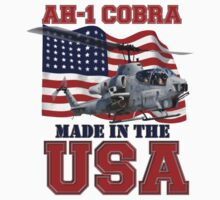AH-1 Cobra Made in the USA Kids Clothes