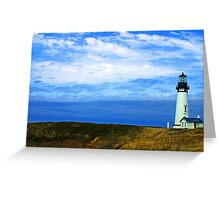 """""""The Keeper of the Light"""" Greeting Card"""