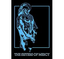 The Sisters Of Mercy - The Worlds End - Back Blue Photographic Print