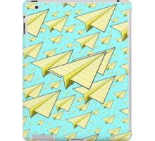 Paper Airplane 10 iPad Case/Skin