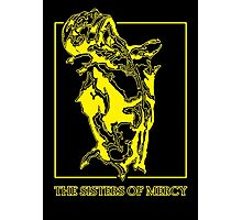 The Sisters Of Mercy - The Worlds End - Front Yellow Photographic Print