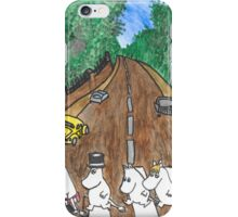Moomins Parody Abbey Road  iPhone Case/Skin