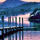 Misty Morning On Derwent Water - Chapman Edit. by JoLennox