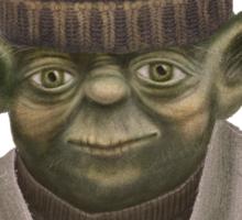 Christmas Yoda Sticker