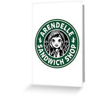 Arendelle Sandwich Shop Greeting Card