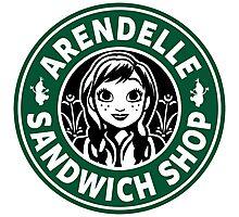 Arendelle Sandwich Shop Photographic Print