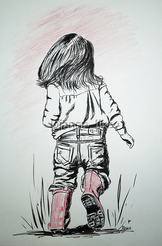 The Pink Boots by Dianne  Ilka