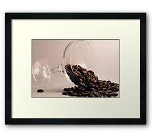 spill the beans Framed Print