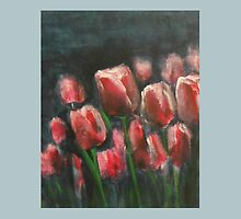 Saucy Tulips 3 by Jane See