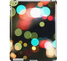 Abstract Colorful Round Bokeh Lights iPad Case/Skin