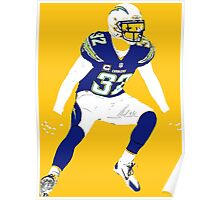 Eric Weddle Poster