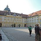 Prelate's Courtyard, Melk Abbey, Austria by Margaret  Hyde