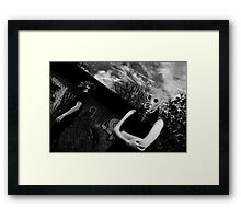 together till the end? Framed Print