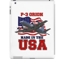 P-3 Orion Made in the USA iPad Case/Skin