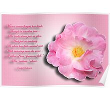For Those Who Have Lost Their Mother Poster