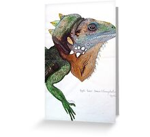 Forest Dragon Greeting Card