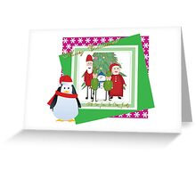 With Love from the Claus Family Greeting Card
