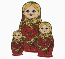 Russian Dolls by Lara Allport