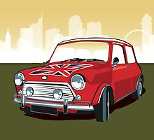 Mini cooper by Lara Allport