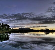 Lake Burley Griffin by Christopher Meder